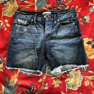 Madewell Size 26 Button Fly Denim Shorts